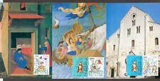 Vatican City Sc# 803-5: St. Nicholas Relics, 3 Maxi Cards