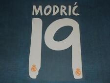 Spanish La Liga  2013-2014 Real Madrid #19 Modric Awaykit NameSet Printing