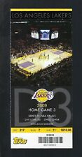 New listing 2009 NBA LOS ANGELES LAKERS FINALS FULL TICKET  - STAPLES CENTER - KOBE BRYANT