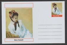 CINDERELLA 95635 - MARY CASSATT - ARTIST  postal stationery card