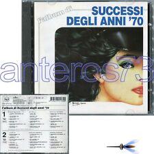 SUCCESSI DEGLI ANNI 70 RARO 2 CD - PATTY PRAVO NADA RINO GAETANO LUCIO DALLA