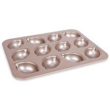12 Cavities Nonstick Cake Pan Carbon Steel Lemon Cake Baking Mould-Bakeware