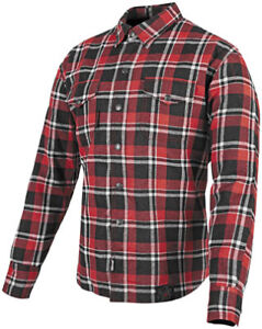 Speed & Strength Black 9 Moto Shirt Size Lg Red/Black