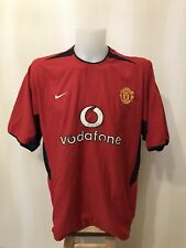 Manchester United 2002/2003/2004 Home Size XXL Nike shirt soccer jersey 2XL