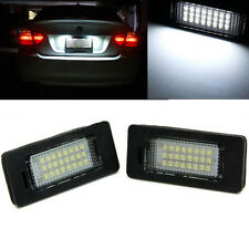 For BMW 3 5 Series White LED License Number Plate Light Lamp E39 E60 E61 E90 E92