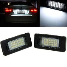 2x 24 LED License Plate Number Lights For BMW E90 M3 E92 E70 E39 F30 E60 E61 E93