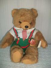 """Hermann Teddy Original ~ Bavarian Bear (Boy) with Tags ~ 1980's ~ 13"""" Tall"""