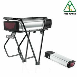 YOSE POWER E-bike Akku 48V 20Ah 962Wh Batterie mit Gepäckträger Ladegerät USB