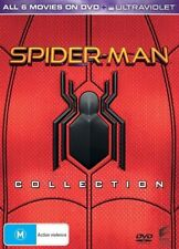 Spider-Man 6 Movie Collection BRAND NEW R4 DVD