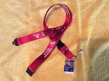 NBA Chicago Bulls Red Breakaway Lanyard Key chain