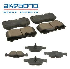 For Mercedes CL550 W221 S550 R230 SL Class Front & Rear Brake Pad Sets Akebono