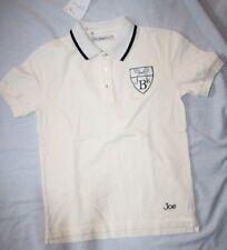 ORIGINAL JOE BLACK Polo MC Tennis -  blanc - bleu marine  - 12 ans neuf
