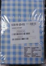 Company Kids Gingham Percale Sky Blue One Standard Pillow Case 100% Cotton New