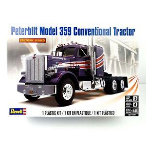 Revell Peterbilt 359 Conventional Truck Model Kit 1:25 Scale Revell - RARE