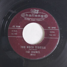 CHAMPS: Too Much Tequila / Twenty Thousand Leagues 45 Oldies