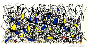Jackson Pollock Summertime 1948 LIMITED EDITION High Quality Giclee Print
