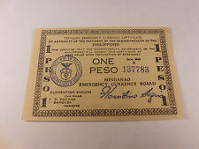 Philippines Emergency Currency Mindanao One Peso - # 137783