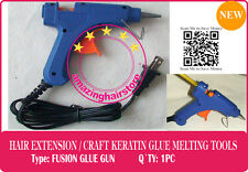 Hot Melt Glue Gun 4 Keratin Fusion Glue Prebonded Remy Human Hair Extension-110V