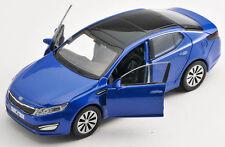 Livraison rapide KIA k5 bleu/Blue welly modèle auto 1:34 NOUVEAU & OVP
