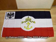 Banderas bandera de Prusia seedienstflagge - 90 x 150 cm