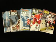 Lot of 5 Different The Sporting News Hockey Registers 1996/97 - 2000/01