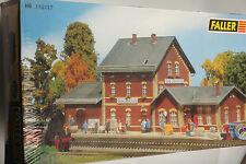 Faller H0 110117 Estación gera-liebschwitz en emb.orig.