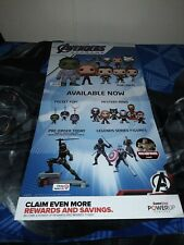 Marvel Avengers Endgame Funko Pop Gamestop Exclusive Promo Poster