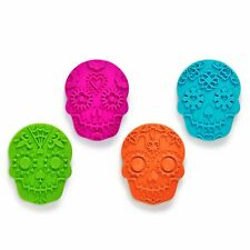 FRED Sweet Spirits Sugar Skull Cookie Cutters and Stampers Mold Halloween Party