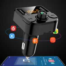 Coche FM Transmisor LCD Manos Libre USB SD Inalámbrico bluetooth MP3 Reproductor
