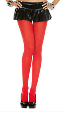 Autumn Winter Solid Opaque Pantyhose Stockings Tights 15 Candy Colors 2 Sizes US