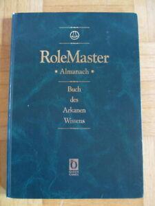 RoleMaster Almanach - BUCH DES ARKANEN WISSENS 1. Auflage 1994 Queen Games mers