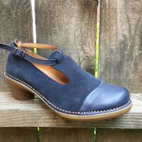 El Naturalista Womens Shoes Size 6.5 / 7 Made In Spain Eco Earth Friendly Blue