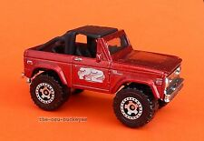 2010 Matchbox Loose 1972 '72 Ford Bronco 4X4 Metallic Red Multi Pack Exclusive