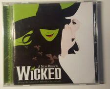Wicked: A New Musical. Original Broadway Cast. CD. Mirror finish disc.