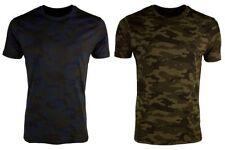 Brave Soul Camouflage T-Shirts for Men