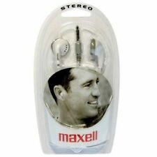 Maxell Brand EB-98 Stereo Earphones WHITE