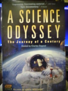 A Science Odyssey (5 DVD, Boxed Set) The Journey Of a Century Educational Video