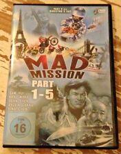 Mad Mission - Teile 1-5 | Sam Hui | Hongkong 80er | 2 DVDs | Action-Comedy | gut