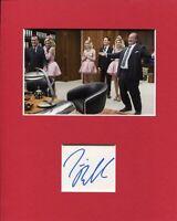 Jim Belushi Twin Peaks Bradley Mitchum Rare Signed Autograph Photo Display