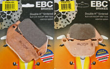 EBC HH front & rear brake pads set - H-D Sportster XL883C / XL1200C 2004-2010