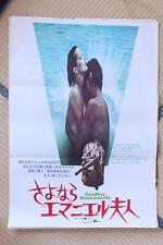 MPH28008 Goodbye Emmanuelle 1977 Original Japan 1SH Movie Poster  Sylvia Kristel
