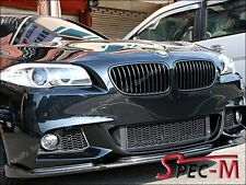 Carbon Fiber HM Type Front Bumper Add Lip For 2011+ BMW 528i 535i 550i M sports
