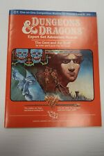 Dungeons & Dragons D&D Expert Adventure Module O1 9050 The Gem and the Staff