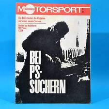 DDR Illustrierter Motorsport IMS 3 1972 MZ Simson Puch MC 125 175 Monte Carlo B