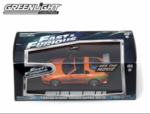 GREENLIGHT 1:43 Fast and Furious - Brian's 1995 Toyota Supra MK.IV - ORANGE