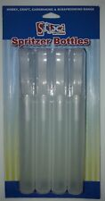 Stix2 Spritzer Bottles, Pack of 4, Empty, Plastic, Art, Craft, Painting, Water