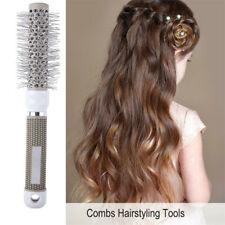 1pc Round Barrel Hair Brush Nano Ceramic Ionic Thermal Brushes F. Curling Drying