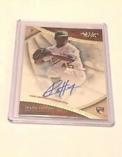 2017 Topps Tier One JHAREL COTTON RC auto card /300