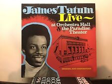 JAMES TATUM - At Orchestra Hall ~ JTTP 8004 {nm orig} [SIGNED BY TATUM] ->RARE