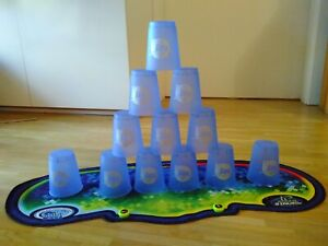 Speed Stacks 12 Flash Cups Stackmat Stacking Matte m. Lunchbox u. Anleitungs-DVD